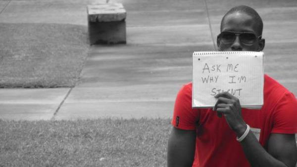 Overcoming LGBT Bullying and Stereotypes in Theatre and the Performing Arts in Trinidad and Tobago; Day of Silence Demonstration with the Silver Lining Foundation at the UWI St.Augustine
