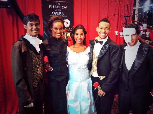 From The Left: Rondell Mungal, Tiana Chandler, Raquel Winchester, Kyle Richardson and Nicholas Gordon