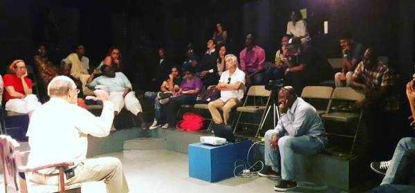 Monday Night Theatre Forum featuring Dr. Lester Efebo Wilkinson at Trinidad Theatre Workshop
