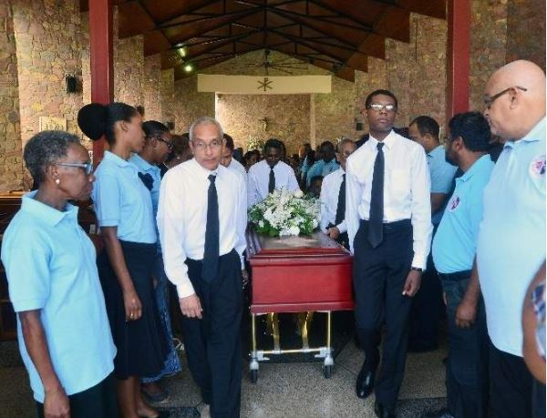 Freddie Kissoon Funeral
