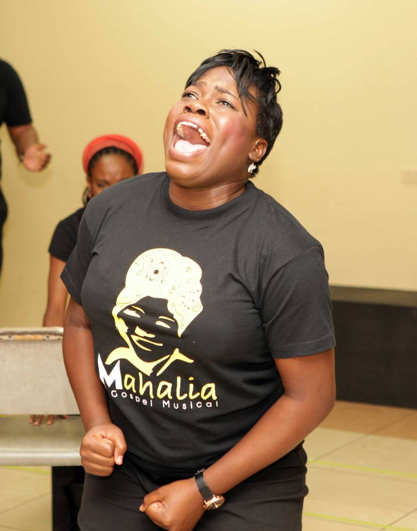 Llettesha Sylvester as Mahalia Jackson