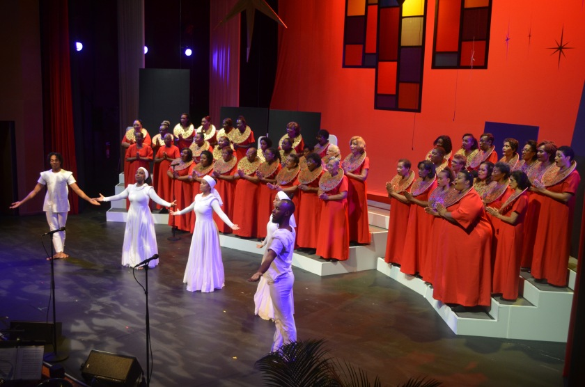 "The Lydian Ladies performing ""Hail Holy Queen"" from the movie Sister Act. 