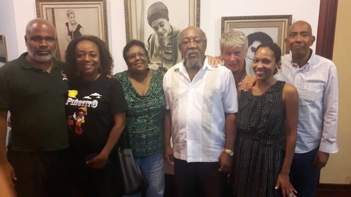 Natioal Drama Association of Trinidad and Tobago NDATT Michael Cherrie, Penelope Spencer, Theresa Awai, Dr. Efebo Wilkinson, Dr. Helmer hilwig, Safa Niamat-Ali, Trevor Jadunath