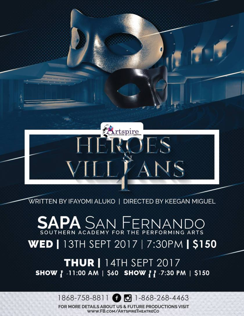 Heroes & Vill-ains Flyer