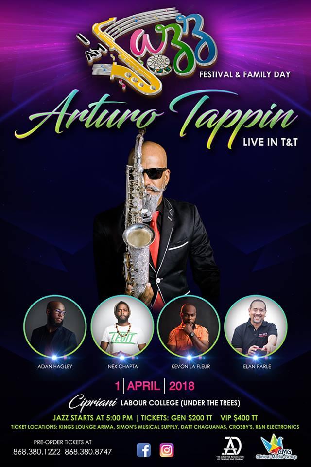 I Am Jazz Festival flyer
