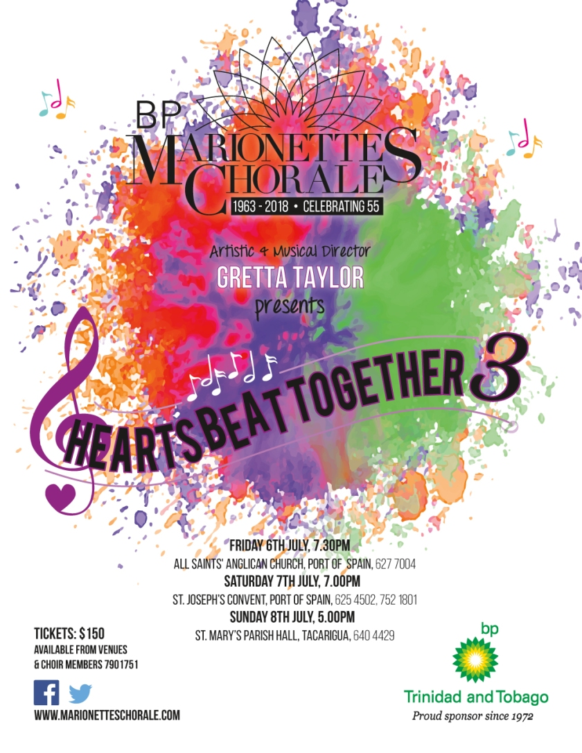 Hearts Beat Together 3 Flyer - all concerts