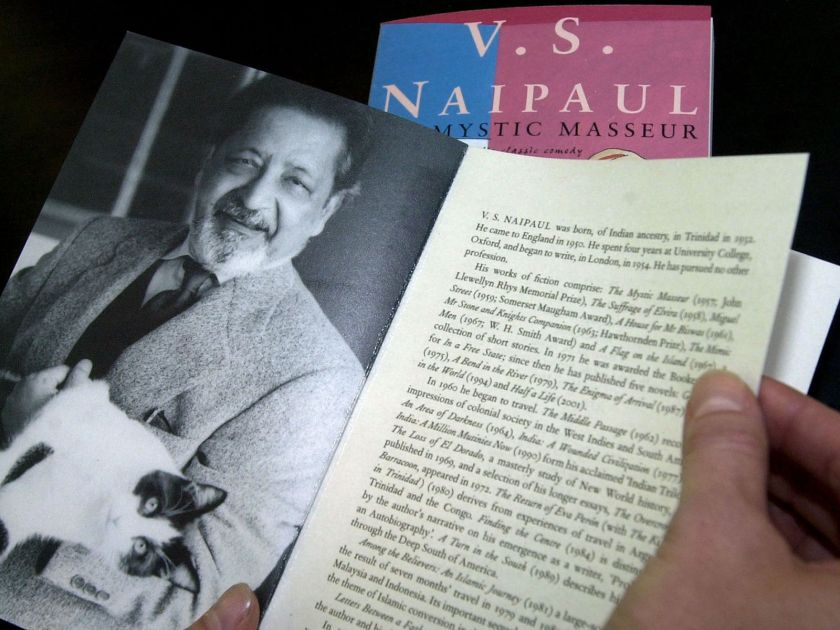 The Mystic Masseur was Naipaul's first novel published in 1957