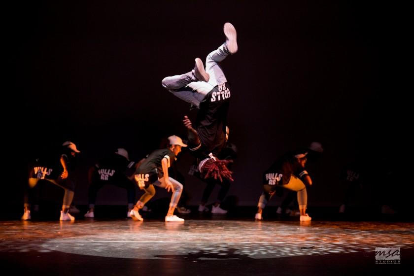 Guest performers in the 2016 LDC presentation, Stars, defy gravity in Hip Hop choreography by Matthew 'UGK_Matt' McClean. Photo courtesy MSA Studios.
