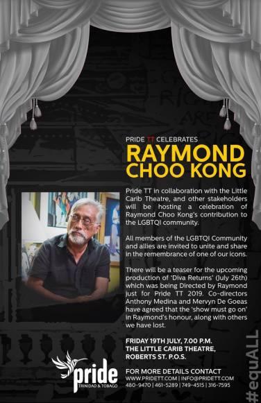 Pride Celebrates Raymond Choo Kong